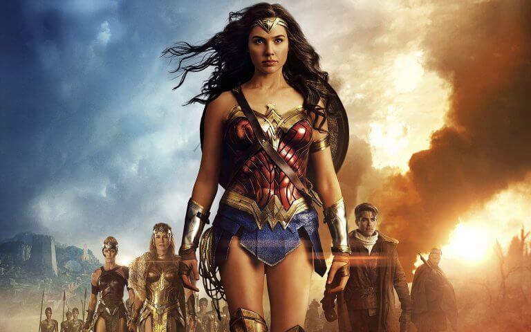 DC 超級英雄電影,蓋兒加朵主演的《神力女超人》。