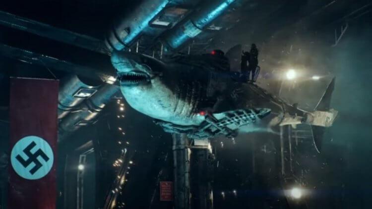 極冰之下的變種鯊魚,希特勒征服宇宙的秘密武器!電影《天空鯊:納粹終極武器》台灣上映確定首圖