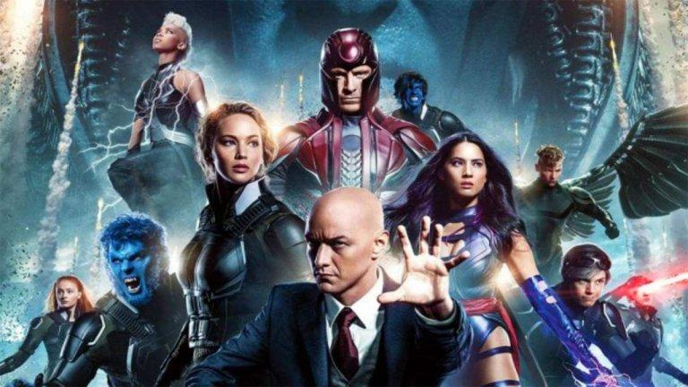 《X戰警》(X-men) 系列劇照。