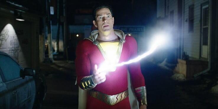 DCEU 2019 年的主要超級英雄強檔大作《沙贊!》。