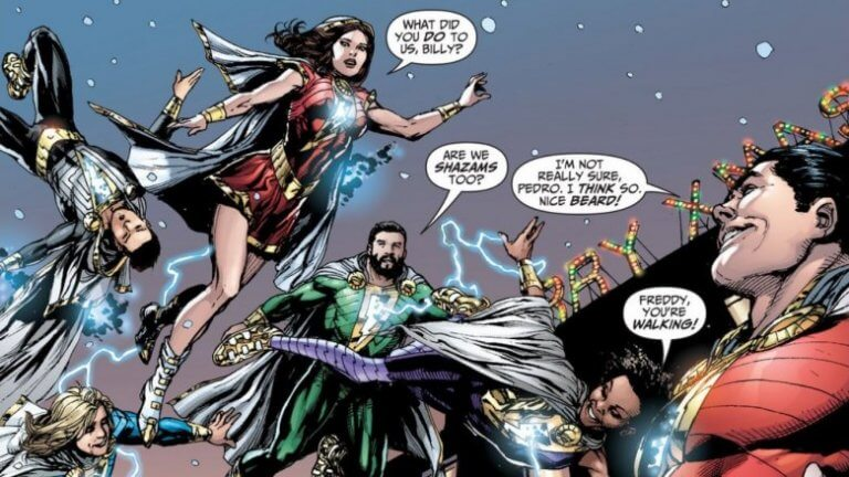 漫畫《沙贊!》中與比利一同在寄養家庭中生活的兄弟姊妹,也將成為超能英雄並進而協助沙贊。