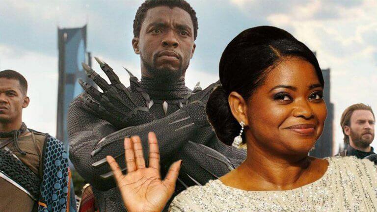 新的問候方式?《恐怖大媽》奧塔薇亞史班森提議用《黑豹》「瓦干達萬歲」來代替握手!