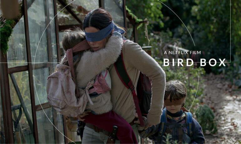 Netflix 最新原創電影《蒙上你的眼》(Bird Box)