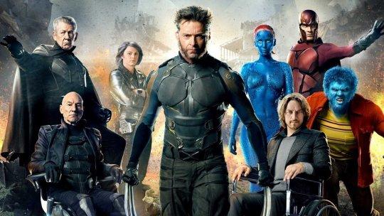 《X 戰警》(X-Men) 系列劇照。