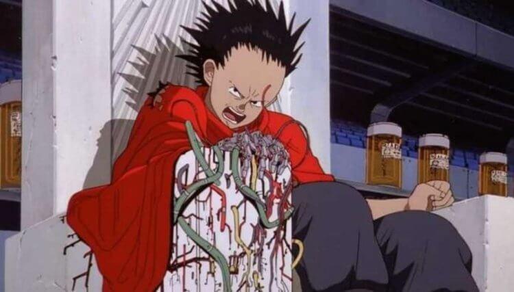 《阿基拉》(Akira) 動畫劇照。