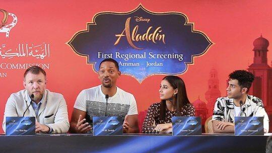 《阿拉丁》(Aladdin) 宣傳