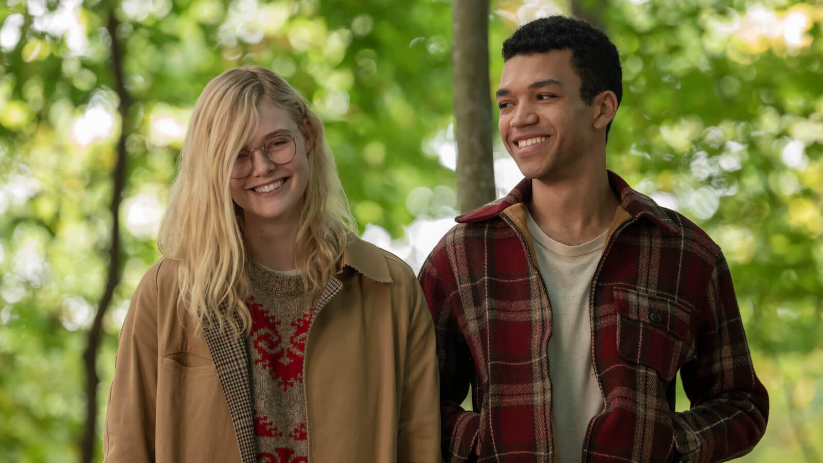 Netflix 原創愛情電影《生命中的燦爛時光》劇照。