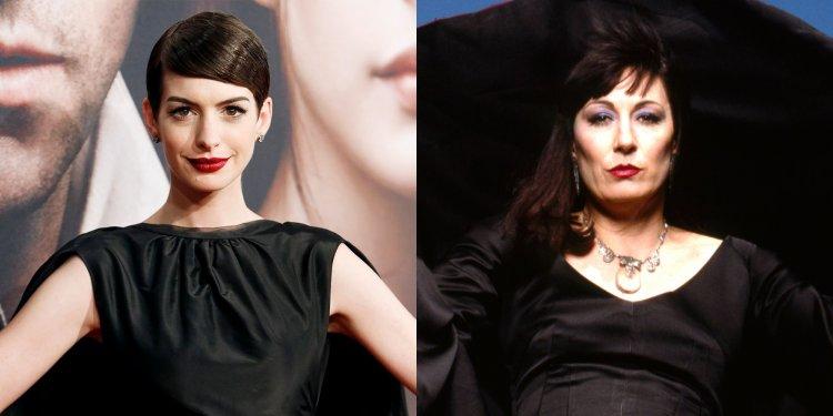 安海瑟薇在預計今年上映的作品《女巫》裡飾演大反派高階女巫。