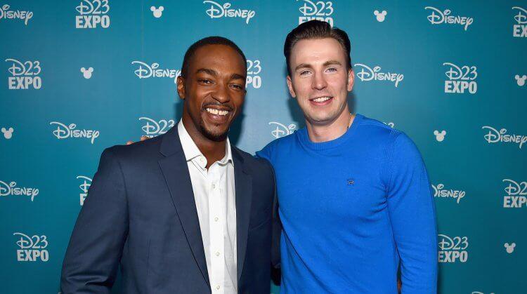 安東尼麥基與克里斯伊凡曾在《復仇者聯盟》系列等漫威超級英雄電影飾演獵鷹及美國隊長。