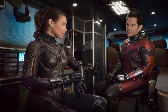保羅洛德 (Paul Rudd) 和伊凡潔琳莉莉 (Evangeline Lilly)