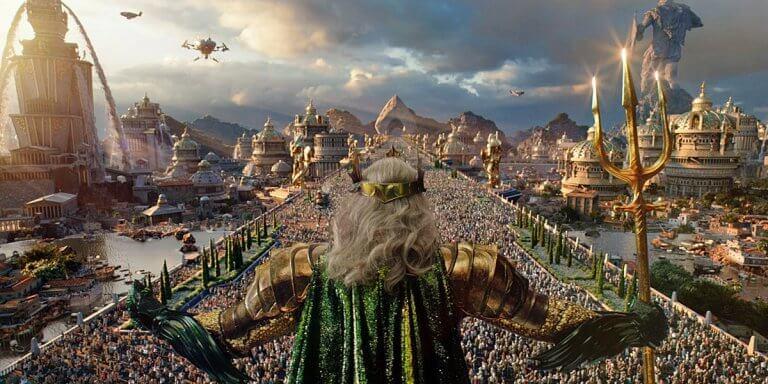 《水行俠》中的亞特蘭提斯王國等美輪美奐的畫面都因溫子仁導演及美術團隊的堅持而生。