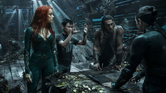 《水行俠》(Aquaman) 片場側拍。