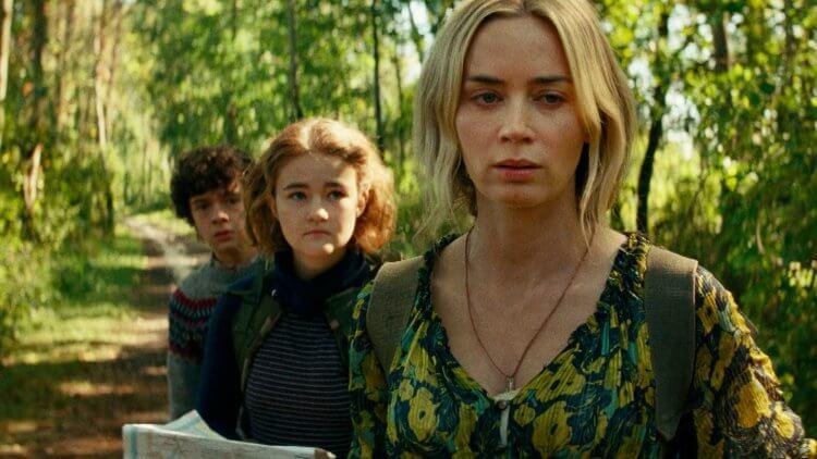 艾蜜莉布朗 (Emily Blunt) 主演《噤界II》。
