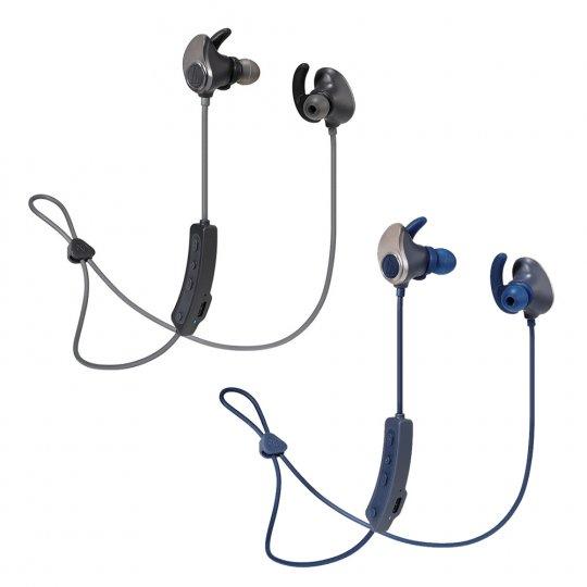 輕鬆升級觀看影劇的影音體驗 audio-technica ATH-SPORT90BT 耳掛式耳機。