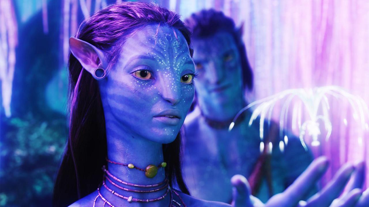 《阿凡達》(Avatar) 劇照。