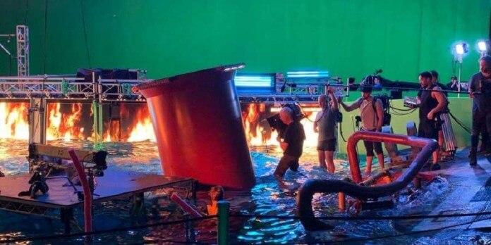 《阿凡達2》片場照。