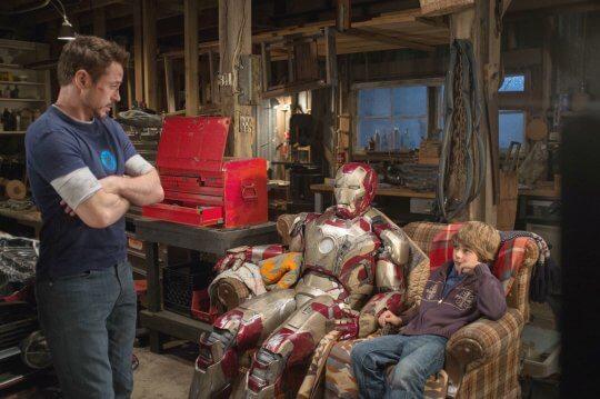 《鋼鐵人 3》(Iron Man 3) 劇照。