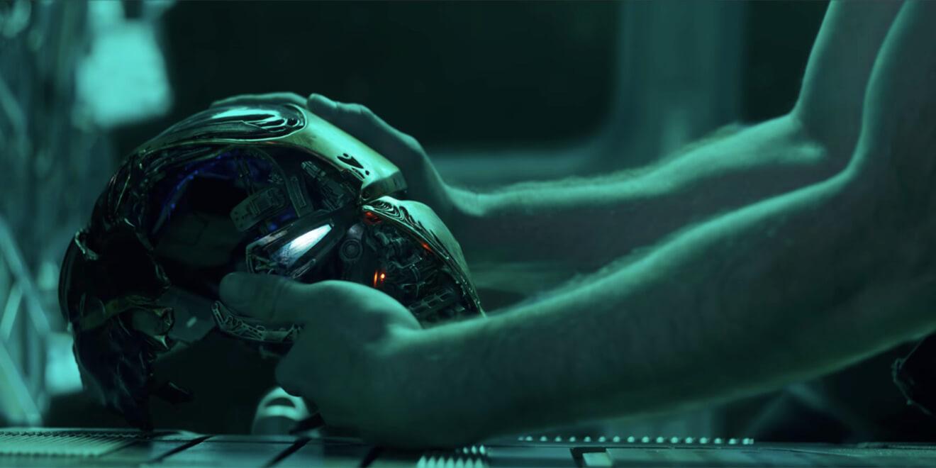 《復仇者聯盟4:ENDGAME》前導預告中,東尼對著鋼鐵人頭盔錄下給小辣椒的訊息......