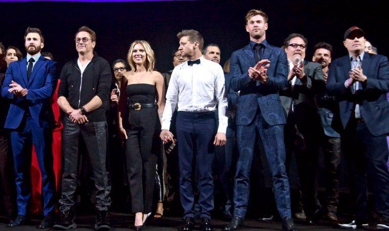 《復仇者聯盟 4:終局之戰》(Avengers: Endgame) 首映照片。