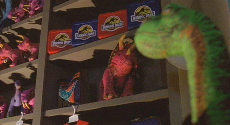 《侏羅紀公園》恐龍標誌。