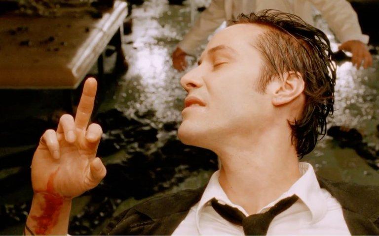《康斯坦汀:驅魔神探》(Constantine) 劇照。