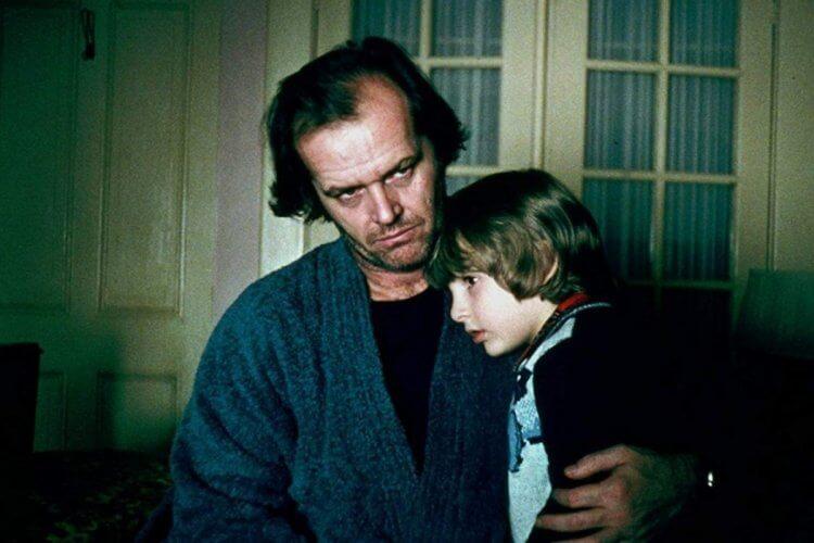 庫柏力克《鬼店》傑克與丹尼。