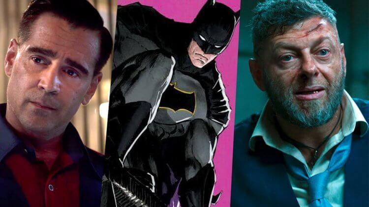 選角消息再更新!柯林法洛&安迪瑟克斯傳將在《蝙蝠俠》電影中飾演「企鵝人」以及「管家阿福」首圖