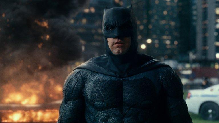 班艾佛列克曾在《正義聯盟》等 DCUE 作品飾演蝙蝠俠,不過他已經卸下這套漆黑戰服了。