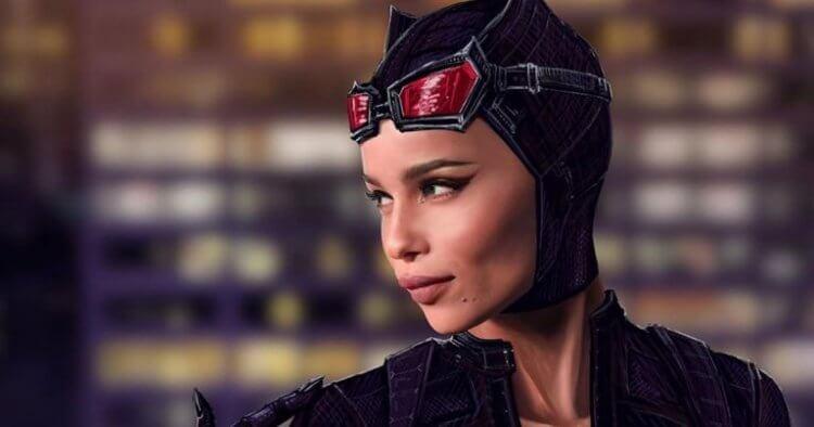 柔伊克拉維茲於《蝙蝠俠》中飾演的貓女。