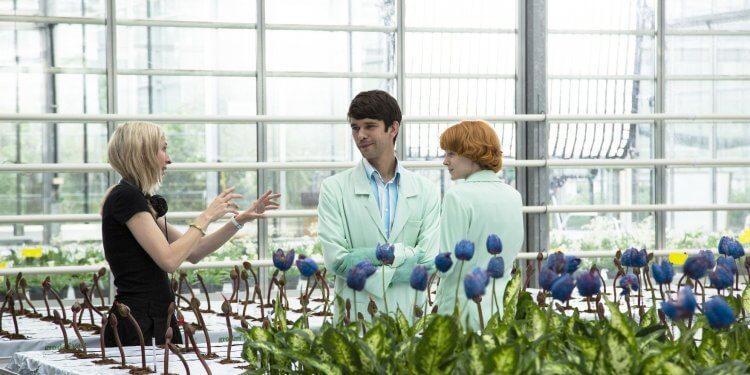 潔西卡賀斯樂執導《小魔花》兩位主演:班維蕭、艾蜜莉比查姆。
