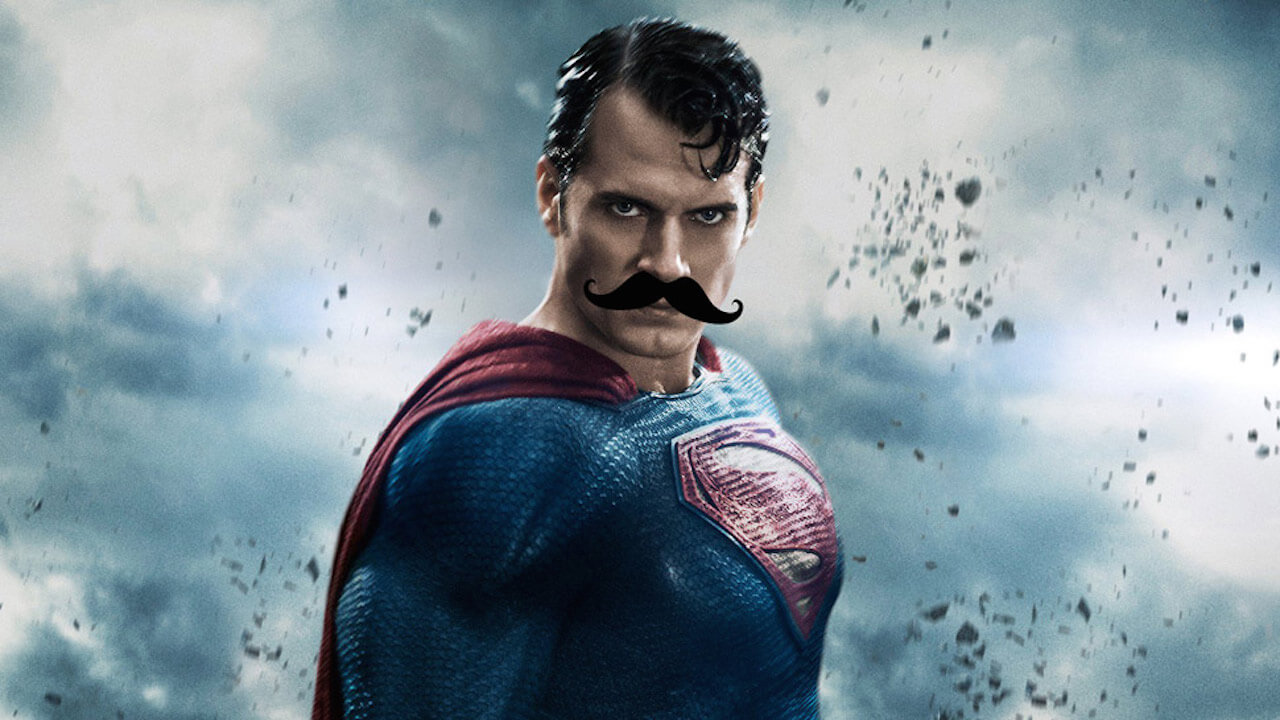 【電影背後】這條價格昂貴的鬍子應該被寫進電影教科書,超人臉上的。