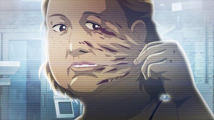 韓國恐怖動畫電影《整容液》。