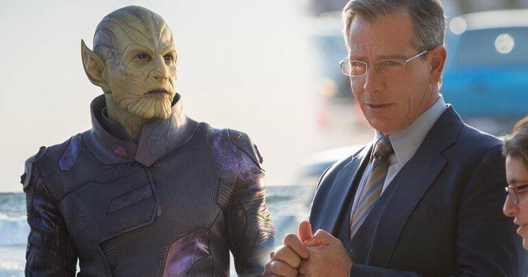 《驚奇隊長》片中,飾演史克魯爾人將軍塔洛斯 (Talos) 的班曼德森 (Ben Mendelsohn)。