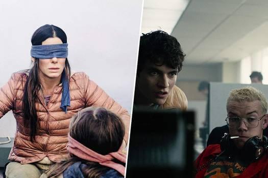 Netflix 的原創影視話題作《蒙上你的眼》、《黑鏡:潘達斯奈基》。