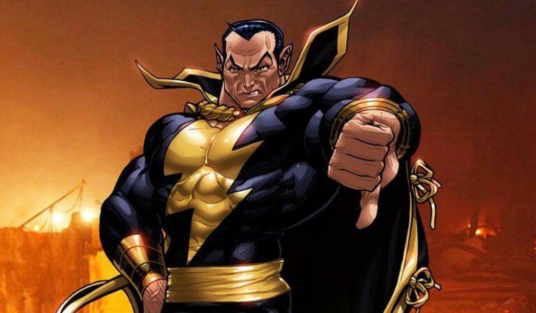 DC 漫畫中,沙贊的宿敵「黑亞當」,這位漫畫反派將由巨石強森飾演,並將推出個人獨立電影。