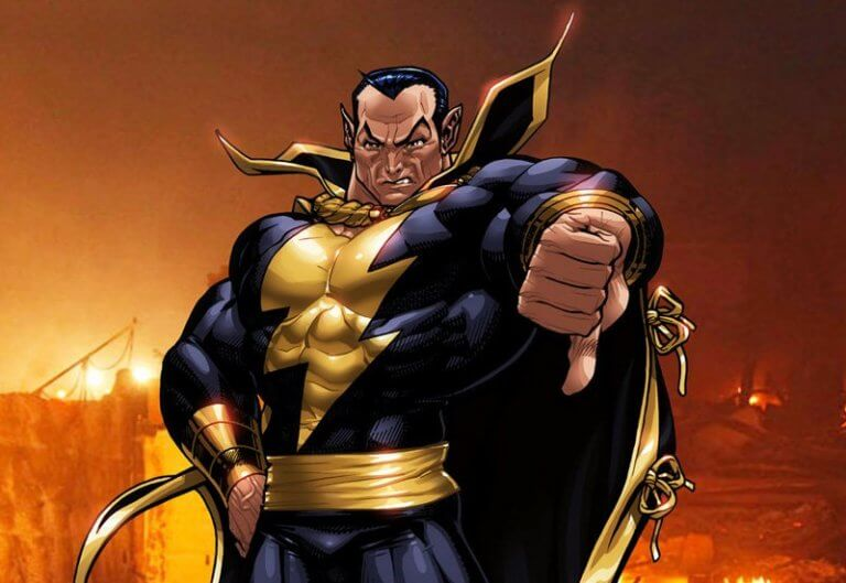 DC 漫畫系列中的經典超級反派「黑亞當」,他是沙贊的死敵,真人電影中將由巨石強森飾演。