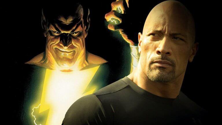 DC 超級英雄角色「沙贊」的最大敵人「黑亞當」,真人電影將由巨石強森演出。