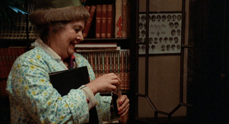瑪莉安沃德曼在《女生驚魂記》的演出,讓觀眾觀看這部調性沈重的電影時有些許喘息空間。