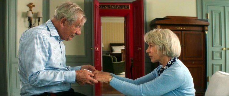 《大說謊家》「羅伊」伊恩麥克連與「貝蔕」海倫米蘭的一來一往,是溫情如水,還是糾葛如火?。