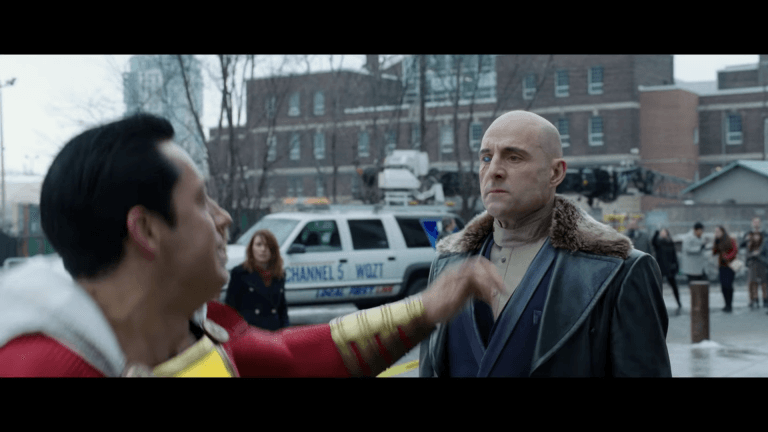 《沙贊!》中由馬克史壯飾演的反派:希瓦納博士,實際在片中的舉動令人十分好奇。