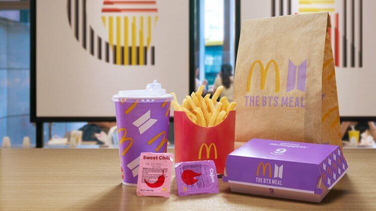BTS X McDonald's。