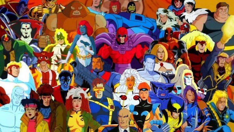 在《X戰警》(X-men) 原版漫畫與動畫中,超英們都身穿色彩鮮豔、造型各異的服裝