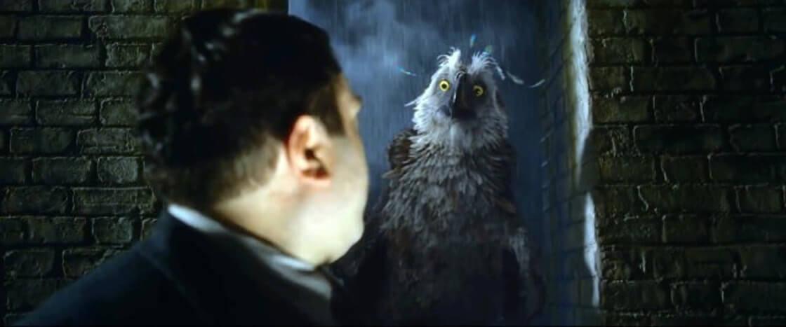 《怪獸與葛林戴華德的罪行》中的報喪鴉。
