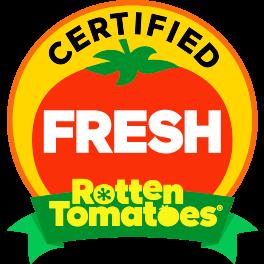 爛番茄網站的新鮮認證,代表作品十分廣受好評!