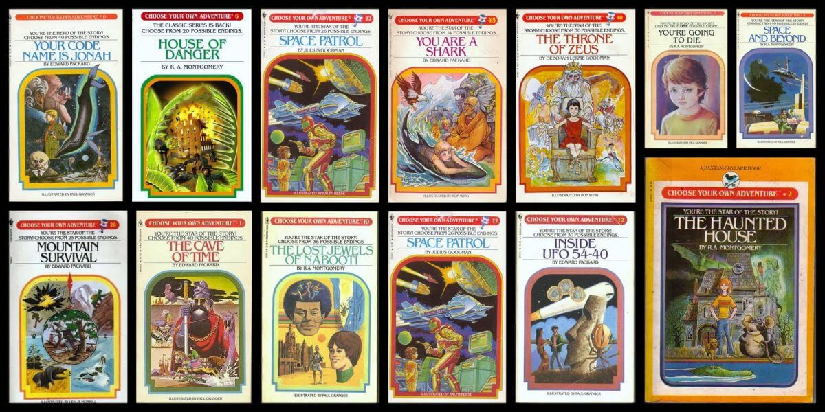 choose-your-own-adventure 黑鏡將採用童書 自選開放結局
