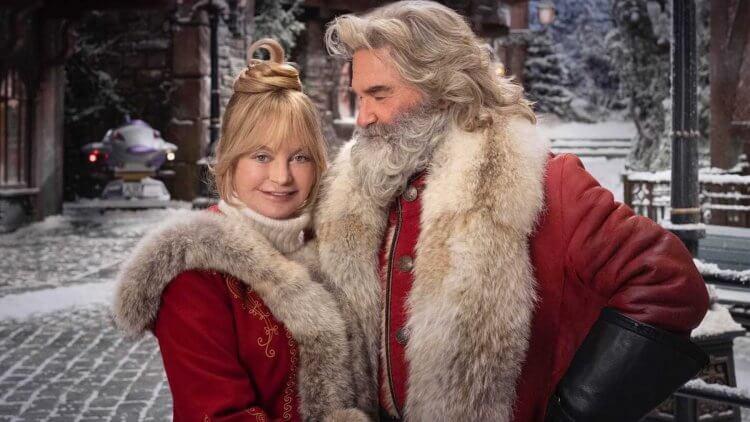 《聖誕急救隊 2》寇特羅素及歌蒂韓。