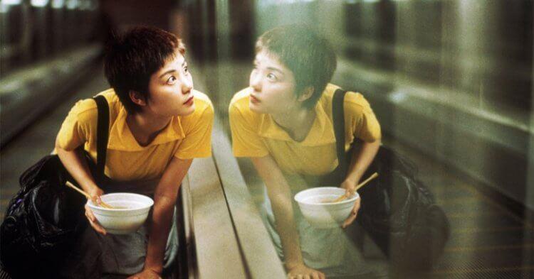 王家衛導演電影《重慶森林》王菲。