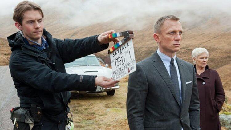 《007:空降危機》片場側拍