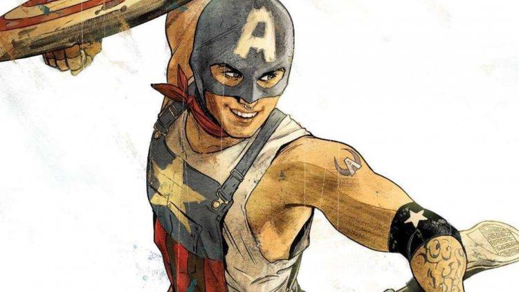 漫威漫畫即將推出全新 LGBTQ 英雄——「鐵道上的美國隊長」亞倫費雪首圖
