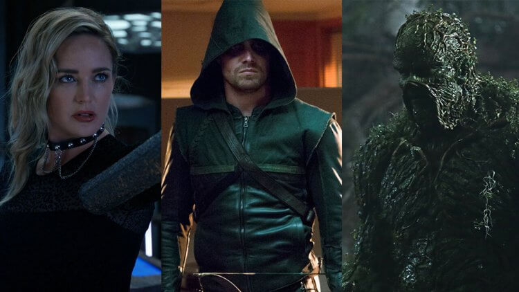 DC 影集《明日傳奇 6》與美同日首播 !《綠箭俠》1-8 季及《沼澤異形》HBO GO 線上看的到首圖